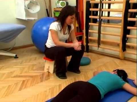 A hanyag tartás korrekciós gyógytornája - YouTube