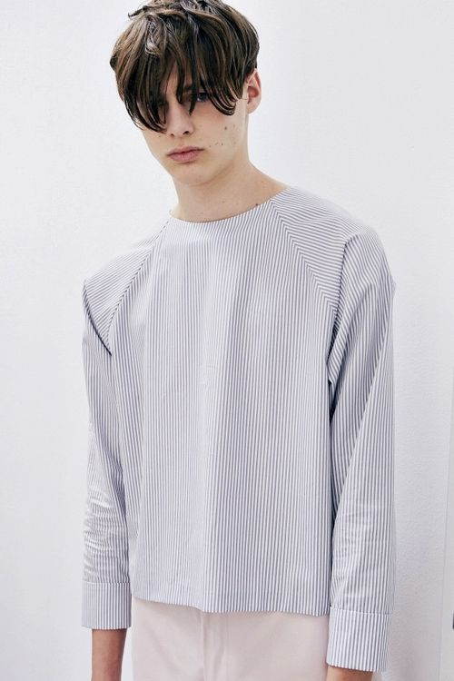 Darwin Gray   Duckie Brown SS15 Backstage MBFW New York, photo by Eric White