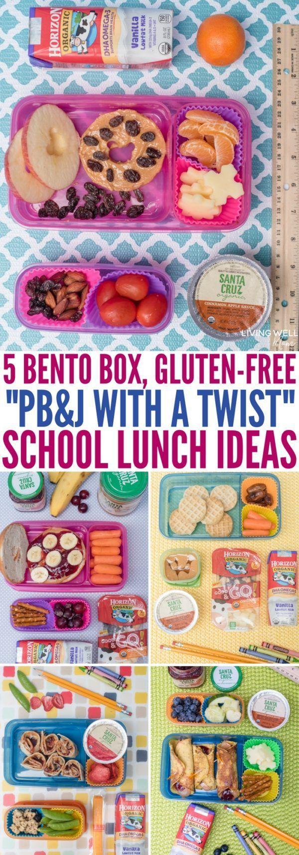5 Gluten-Free Twists on Peanut Butter & Jelly Sandwiches for Kids