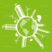 Vector Green House And Recycling Arrows Pics Stock Photos All Sites. clipar...