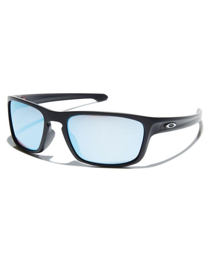 04b06b82d9c Oakley Sliver Stealth Polarized Sunglasses Matte Black Prizm Mens sunglasses  Size