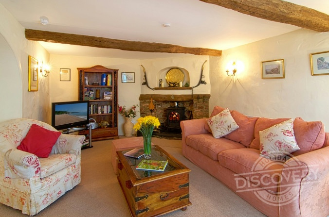 The Coach House near Stoke Gabriel.  http://www.discoveryholidayhomes.com/view/The-Coach-House.aspx
