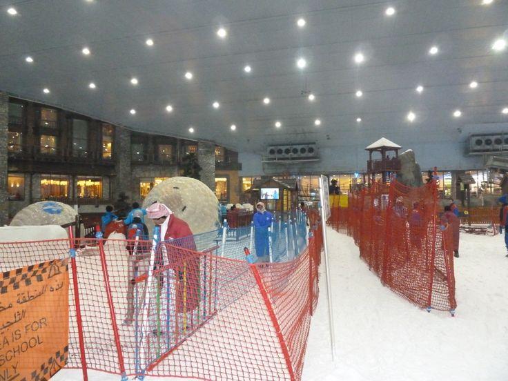 Ski Dubai heeft ook Xorb bal #3MTT #NHTV