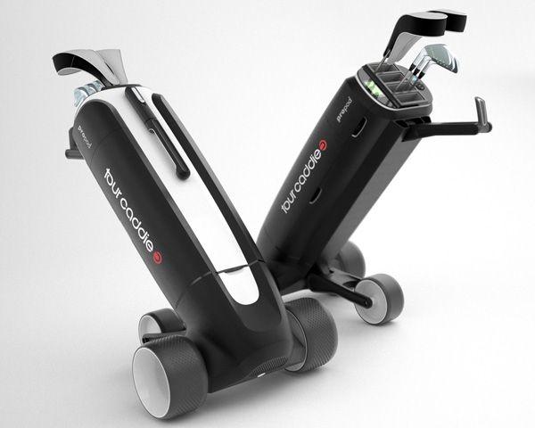 Tour Caddie - ProPod Golf Trolley by AME Design » Yanko Design