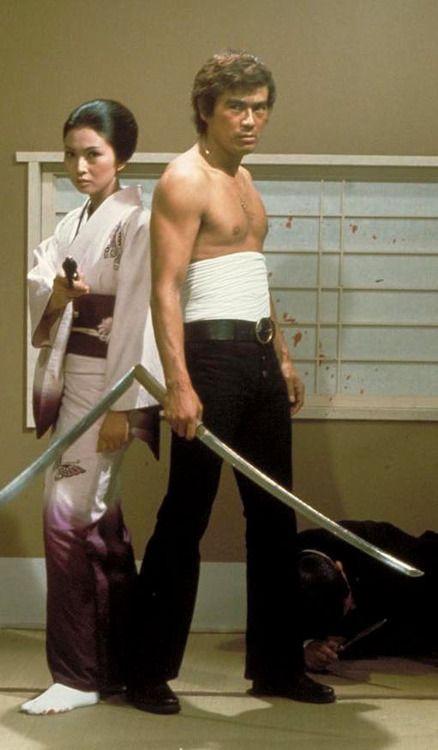 Mesu Neko Bakuchi / Wandering Ginza : She cat Gambler (1972), starring Sonny Chiba and Meiko Kaji
