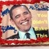 The Republican National Committee mocked President Barack Obama on Friday, sending a cake to the Democratic National Comm...