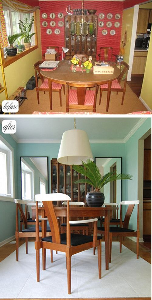 Great Dining Room Redo Can You Spot The Reused Items