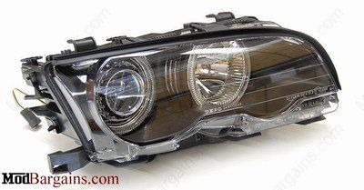 Depo E46 Coupe/Sedan Xenon BMW Headlights at ModBargains.com. Experienced Modification Experts ready to help, shop…