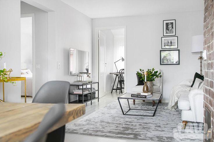 Skandinávské obývací pokoje inspirace - Krásné bydlení ve skandinávském stylu | FAVI.cz