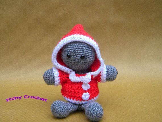 Inchoate Elf Hoodie Crochet Pattern by ItchyCrochetDesigns on Etsy