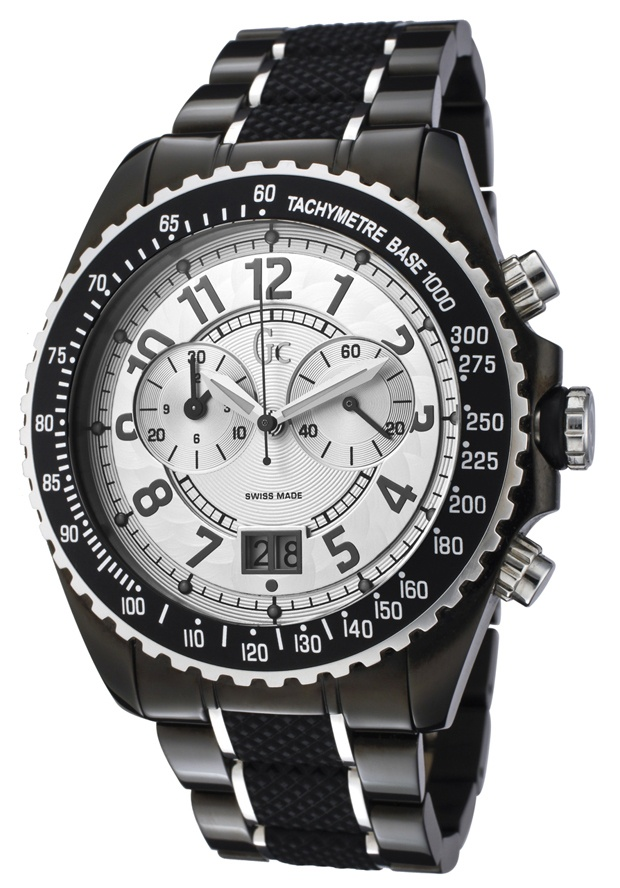 Price:$299.00 #watches Guess 46001G, Collectively matching anyone's style, this classy Guess collection with its cool, bold design, will elegantly go with any suit.