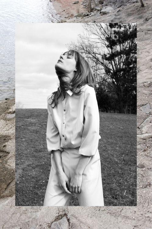 Editorial for Lack Magazine spring 11/12photo PETER HENCZ fashion editor ANGIE PALMAI #layouts #prints