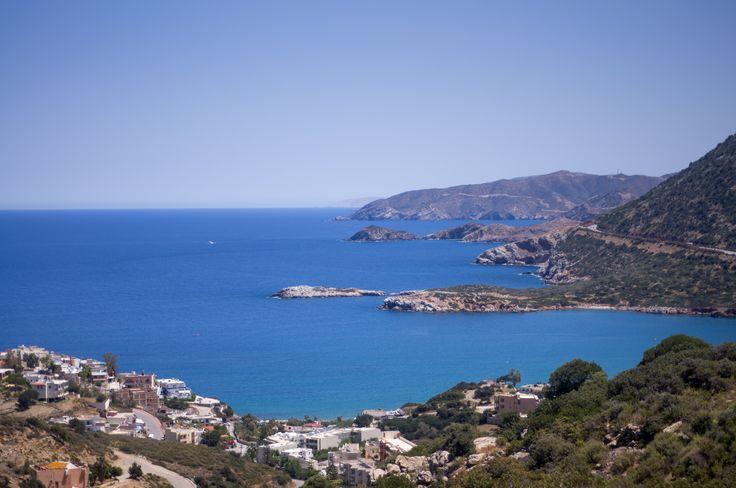 Northern coast of Crete, greece