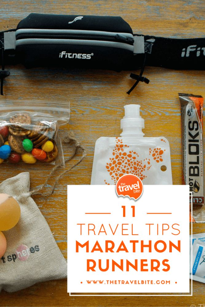 Travel Tips For Marathon Runners - After running more than 10 races, here are 11 essential travel tips for marathon runners including a carry-on packing list.