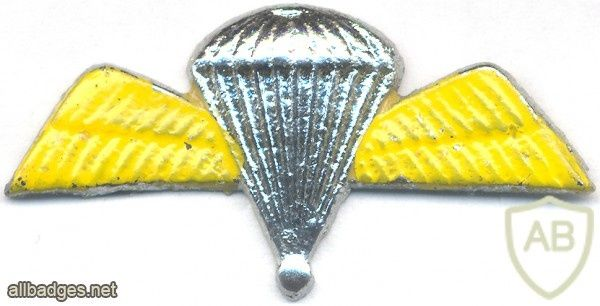 INDIA Army 50 Para Jumps Indicator Badge, obsolete