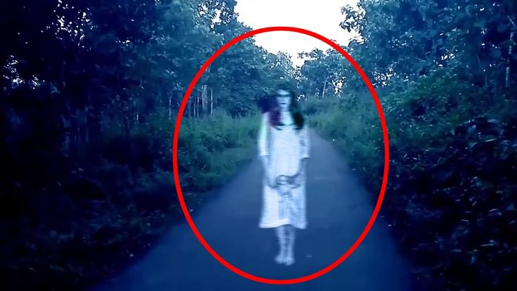 Ghost Howling In Middle Of The Road Caught On Camera!! Ghost Video Compi...