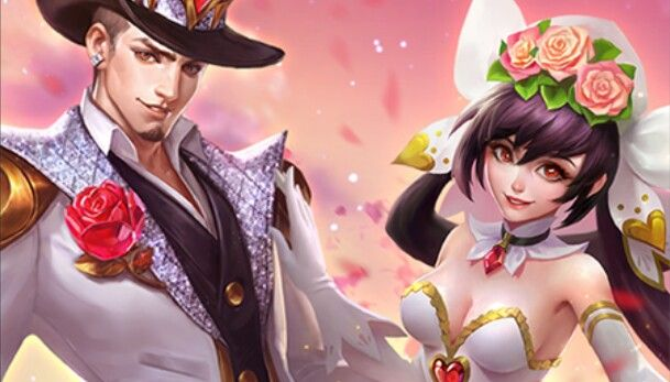 "Mobile legends - Clint ""Guns n Roses"" and Layla ""Cannons n Roses"""