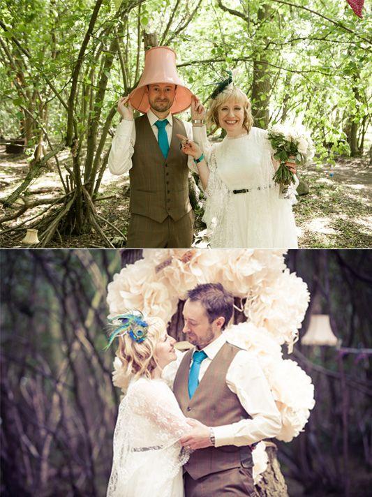 Tina and Paul's Festival Wedding: Juhurstbury