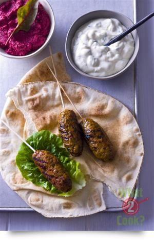 Moroccan Chicken Koftas