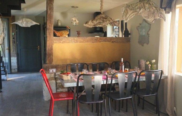 915 Gîtes de France Location de vacances La Grange de Cohco Art Gîtes à FATOUVILLE GRESTAIN dans l'Eure en Normandie.