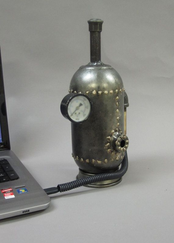 External Hard Disk Steampunk Boiler by edkidera on Etsy, $350.00