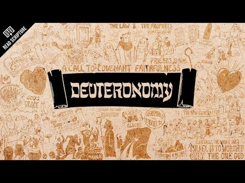 The Bible Project - Great animated video for understanding the meaning and message of the book of Deuteronomy [READ SCRIPTURE Series]