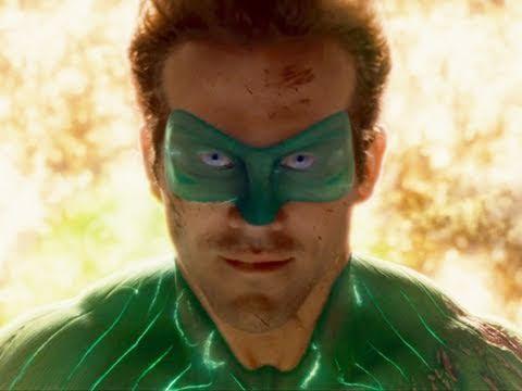 The second Green Lantern movie trailer which stars Ryan Reynolds as Hal Jordan and Blake Lively as Carol Ferris.