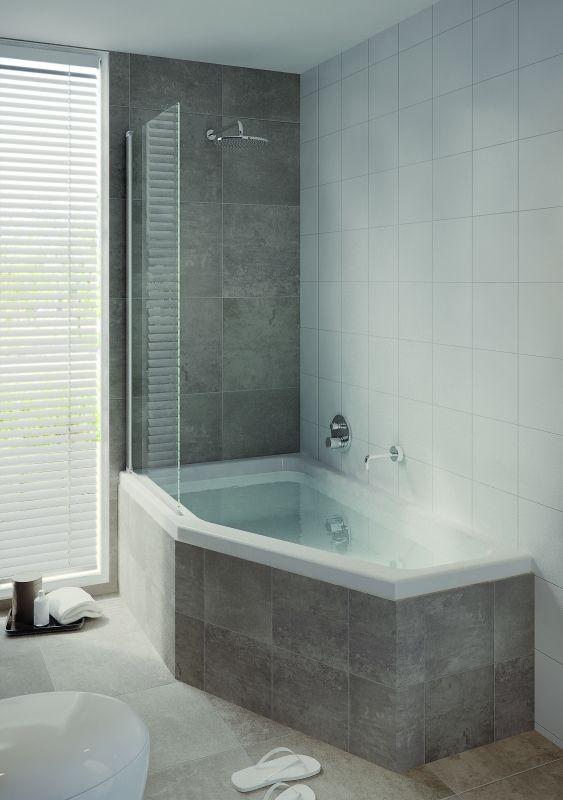 25 beste idee n over badkamer bad douche op pinterest douche wasbak douche bad combinatie en - Badkamers bassin italiaanse design ...