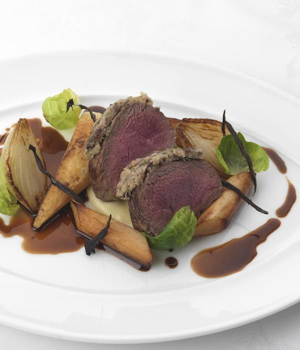 This luxurious venison recipe from Phil Carnegie combines the rich game with the woody flavours of salsify and parsnip, creating a dazzlingly memorable meal. The venison jus takes a good amount of time to prepare, so ensure you allot enough time to prepare this venison dish.