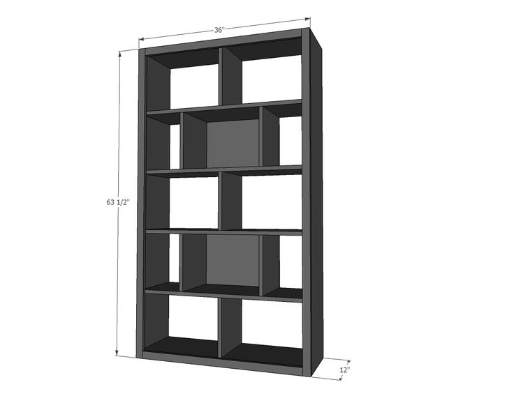 Build A Subway Tile Bookcase Kids Bedroom Tutorials