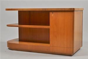 Skrivbord i alm, Art Déco, 1930/40-tal