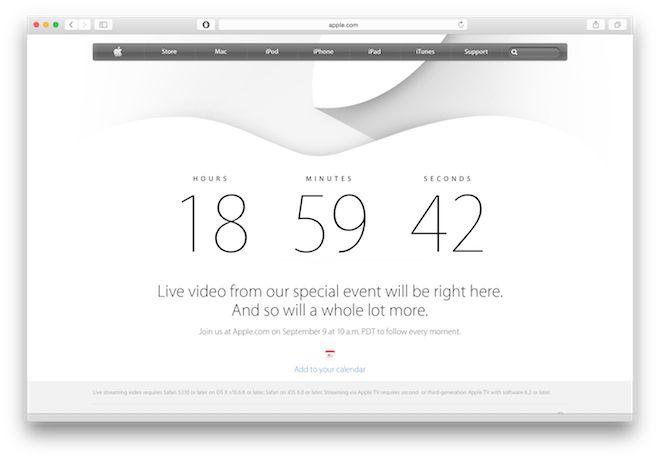 Apple.com te redirige al conteo regresivo para el evento - http://www.esmandau.com/162877/apple-com-te-redirige-al-conteo-regresivo-para-el-evento/