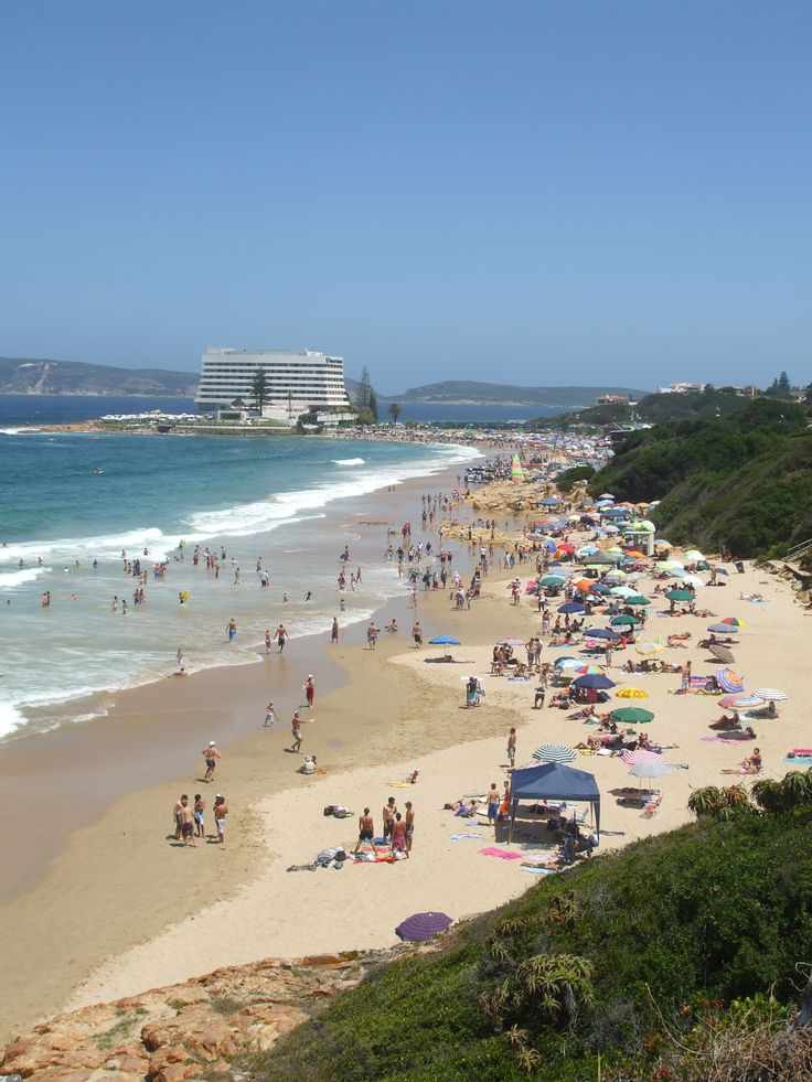 Central Beach in Plettenberg Bay during December Holidays - Garden Route, South Africa