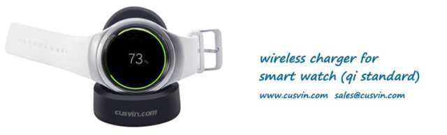 Smart Watch QI standard wireless charger