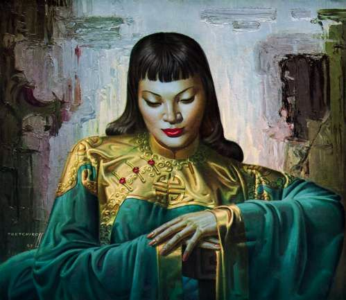 Vladimir Tretchikoff - Lady From The Orient.