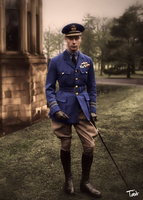 The Duke of York later to be King George VI....Father of Princess Elizabeth, later to become Queen Elizabeth ll....