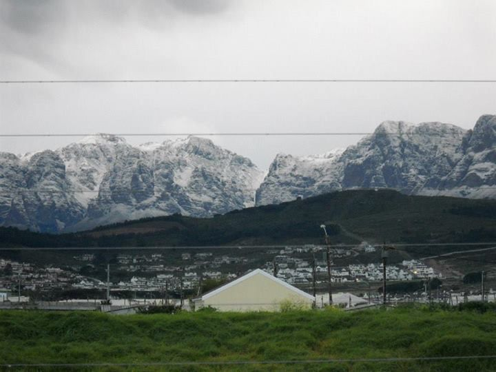 Snow in South Africa is not a common sight. The Helderberg region just outside of Cape Town woke up to winter wonderland the last week of August 2013.