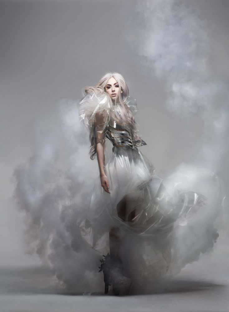 Nick Knight shoots Gaga for Vanity Fair.