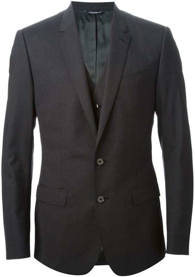 Dolce & Gabbana classic three-piece suit