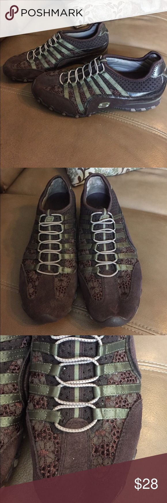 Women's Skechers Skechers slip on flats. Sz 8 great used condition. Skechers Shoes Athletic Shoes