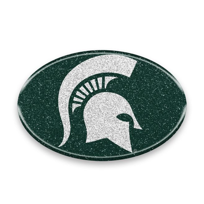Michigan State Spartans Auto Emblem - Oval Color Blin Z157-8162026336