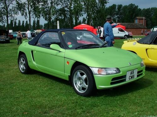 Honda Beat 1991 - unnatural green!