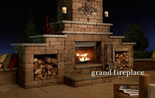 17 Best Images About Out Side Fire Places On Pinterest