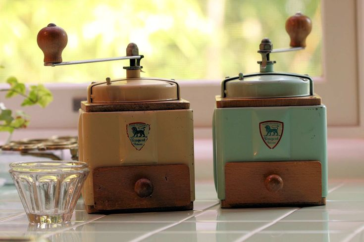 Peugeot coffee mill from japanese blog