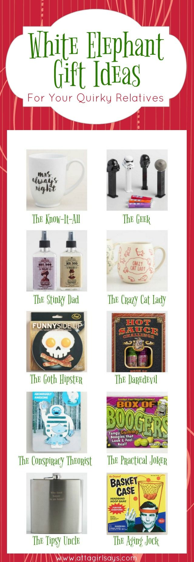 25+ unique White elephant gifts for work ideas on Pinterest | Teen ...