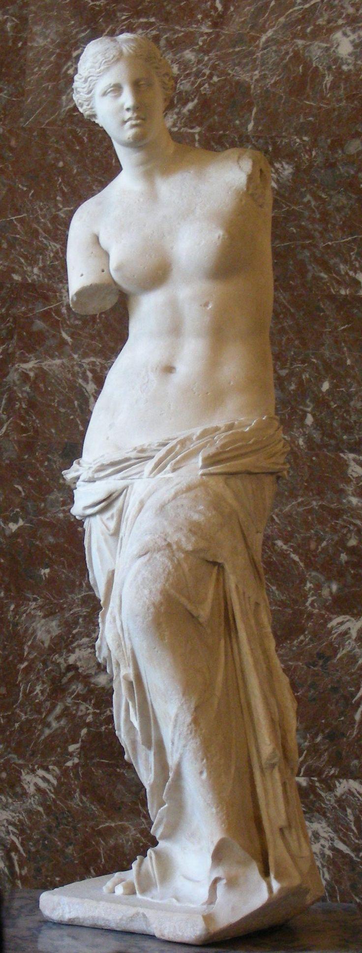 Venus de milo   What a beautiful greek goddess and so tall