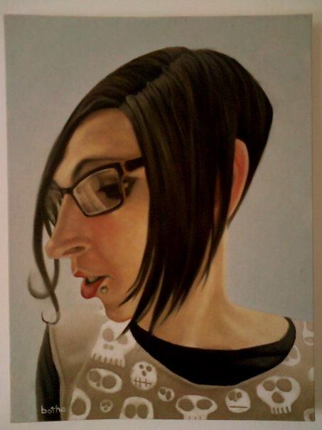 Alexia. Oil on canvas 2010