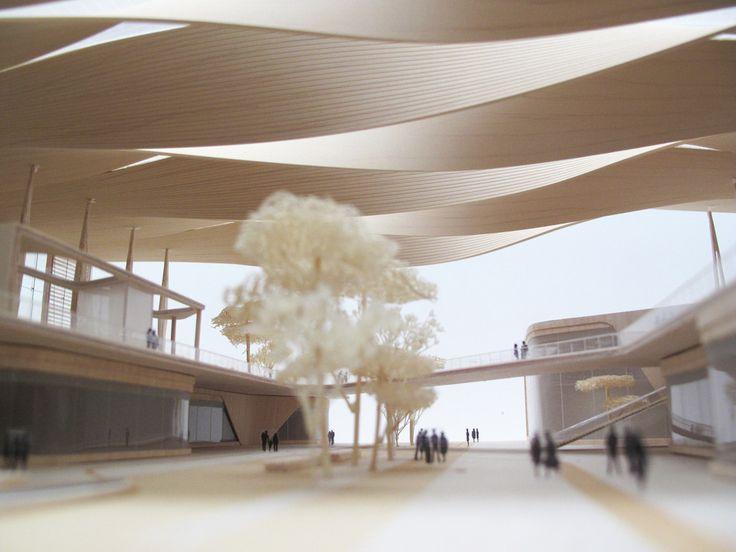 Sordo Madaleno & Pascall+Watson Presents Proposal for New Mexico City Airport,© Sordo Madaleno, model by Roberto Montalvo