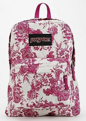 Cute and cheap backpack to go #bts in style If you're totally glam, this pretty floral is both sophisticated and adorable