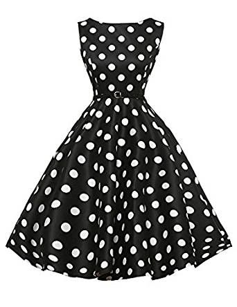 50s Retro Vintage Rockabilly Kleid Partykleider Cocktailkleid